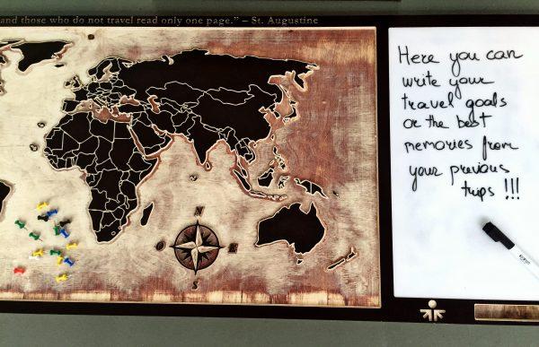 Sieninis žemėlapis day3dream